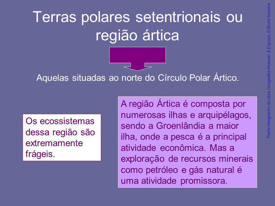 Terras polares setentrionais ou região ártica