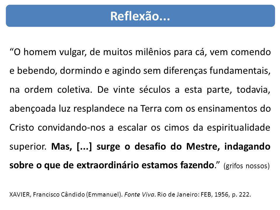 Reflexão...