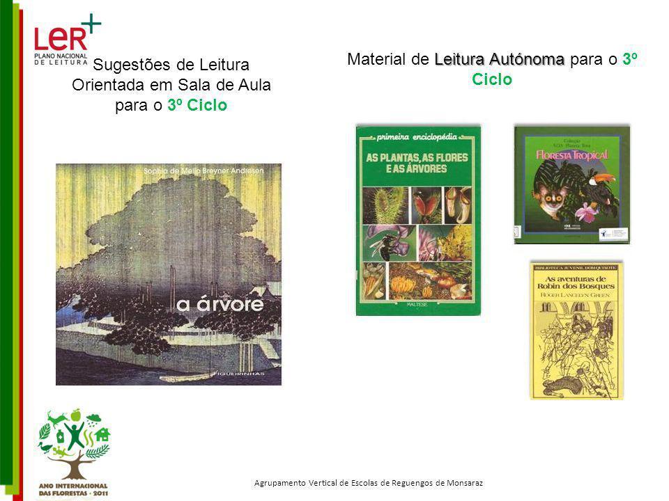 Material de Leitura Autónoma para o 3º Ciclo