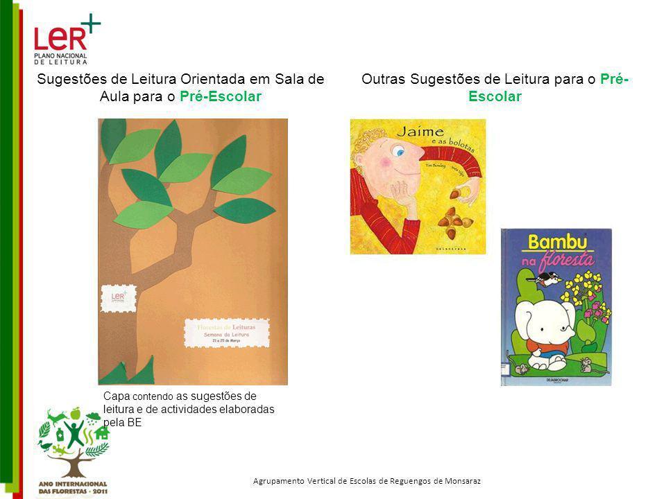 Sugestões de Leitura Orientada em Sala de Aula para o Pré-Escolar