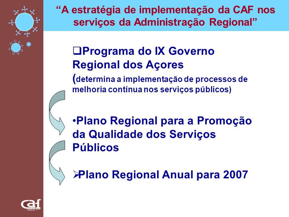 Programa do IX Governo Regional dos Açores