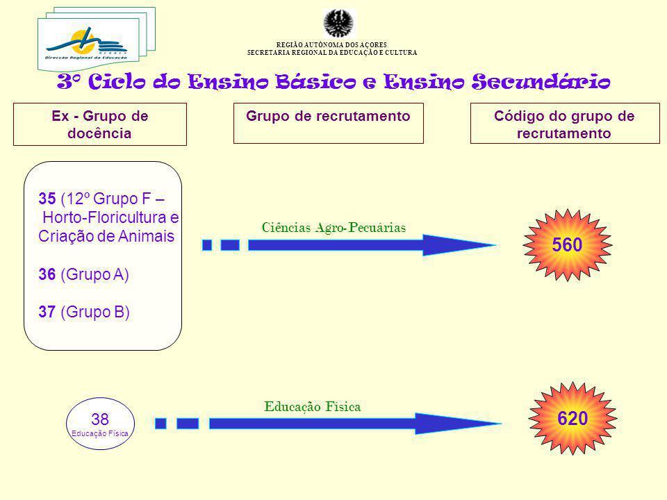 3º Ciclo do Ensino Básico e Ensino Secundário