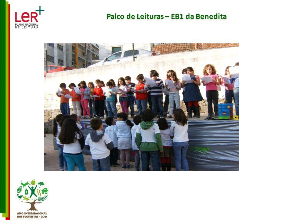 Palco de Leituras – EB1 da Benedita