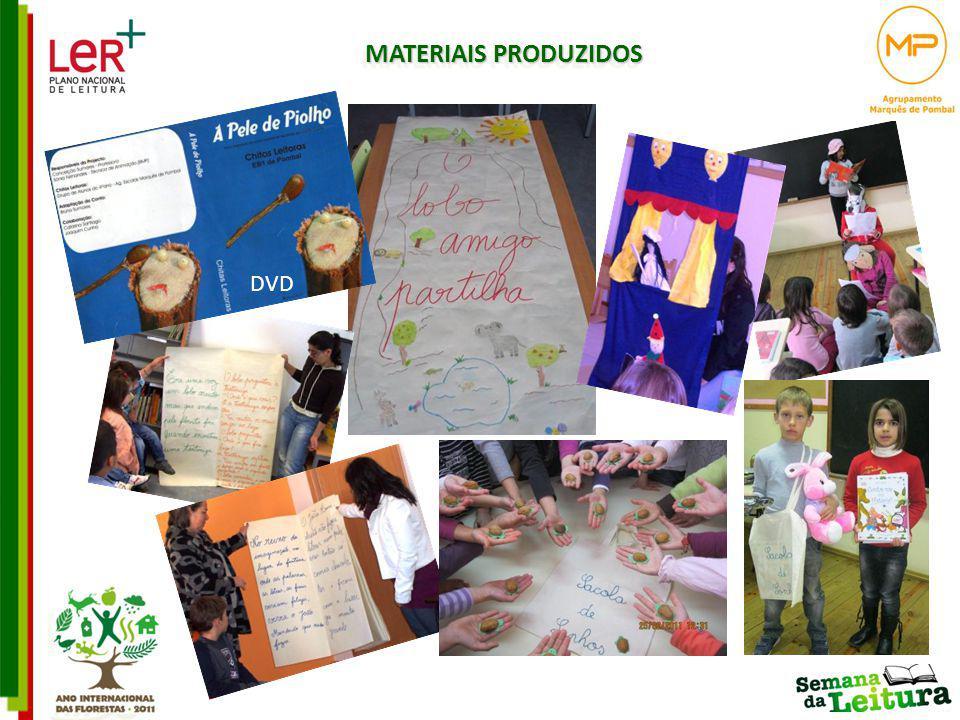 MATERIAIS PRODUZIDOS DVD DVD