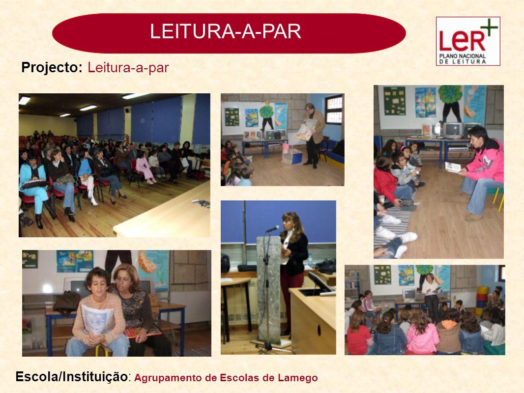 LEITURA-A-PAR Projecto: Leitura-a-par