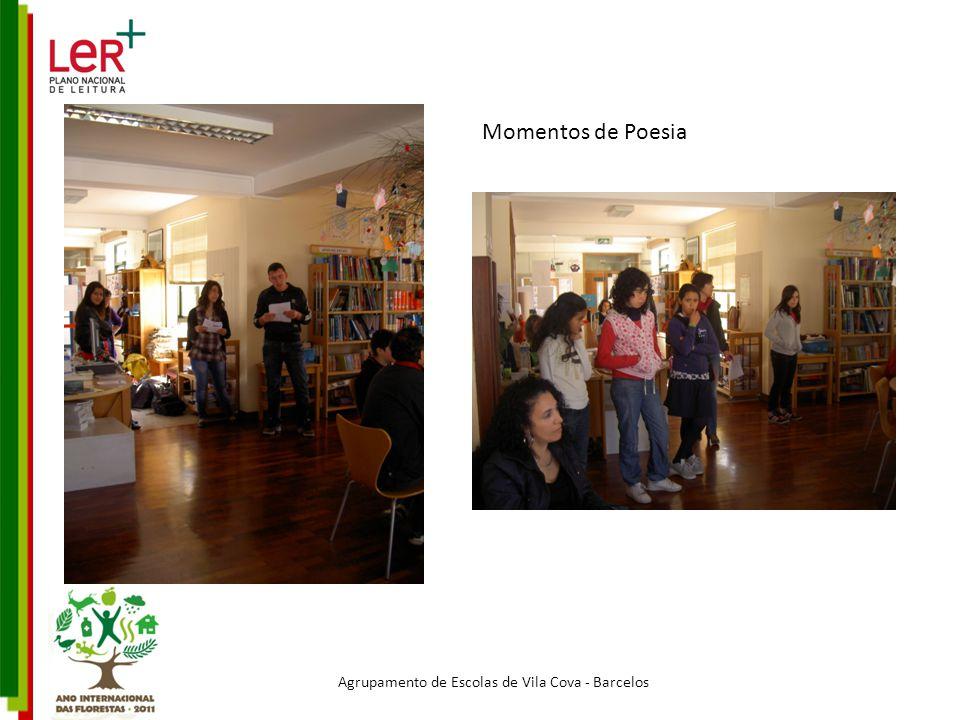 Momentos de Poesia Agrupamento de Escolas de Vila Cova - Barcelos