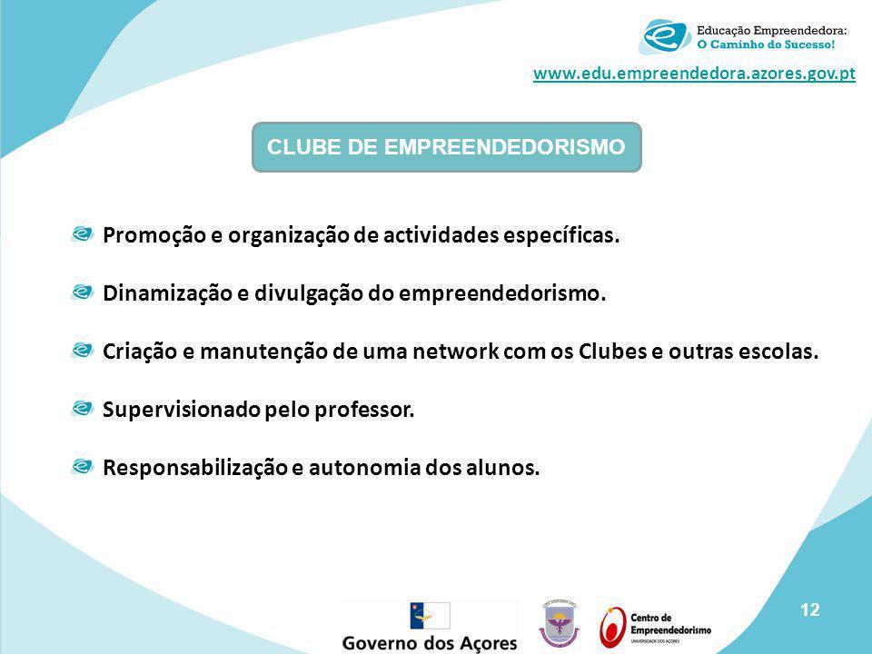 CLUBE DE EMPREENDEDORISMO