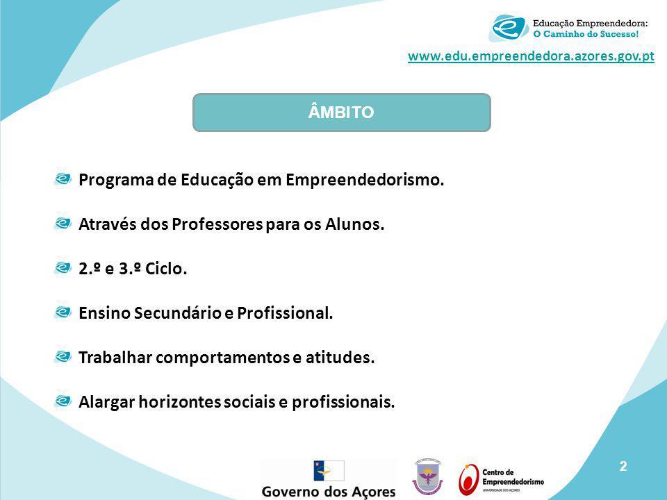 Programa de Educação em Empreendedorismo.