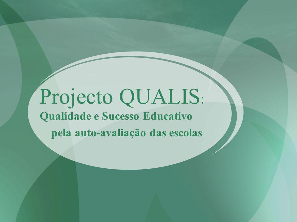 Qualidade e Sucesso Educativo pela auto-avaliação das escolas