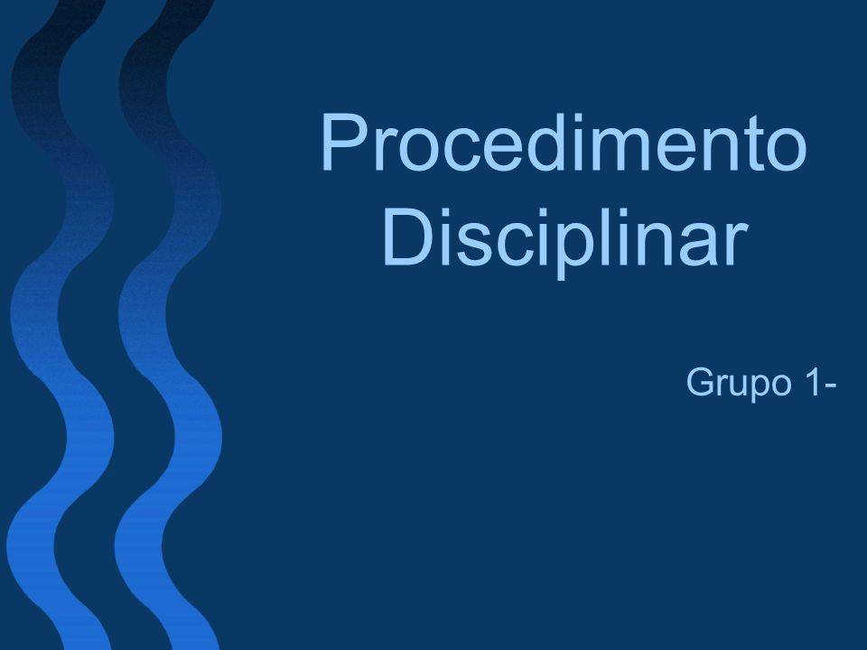 Procedimento Disciplinar
