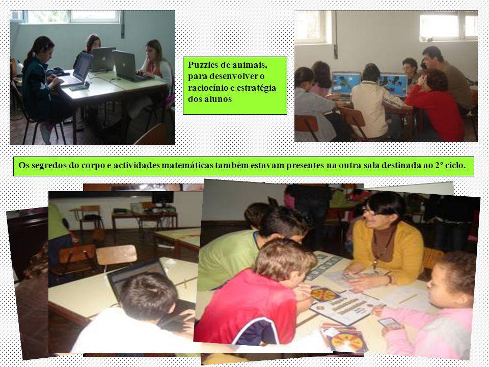 Puzzles de animais, para desenvolver o raciocínio e estratégia dos alunos
