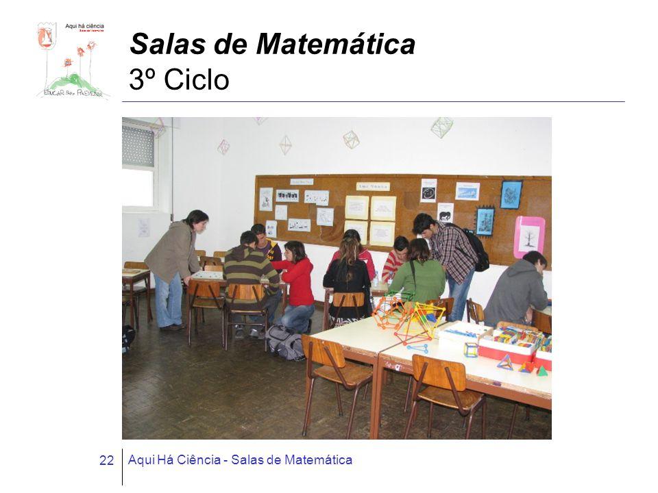 Salas de Matemática 3º Ciclo