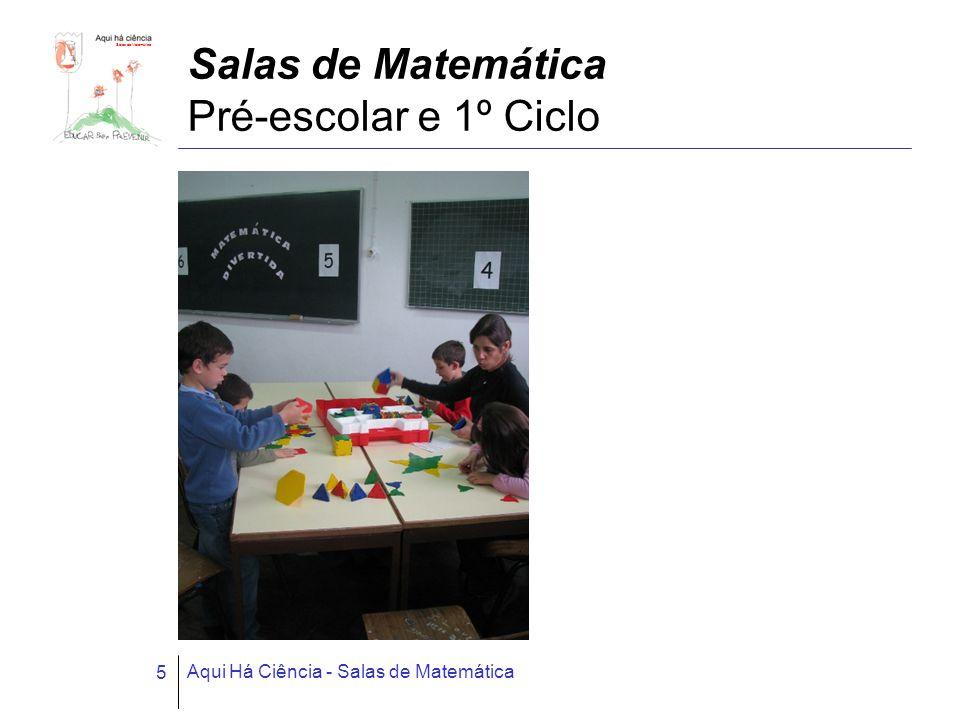 Salas de Matemática Pré-escolar e 1º Ciclo