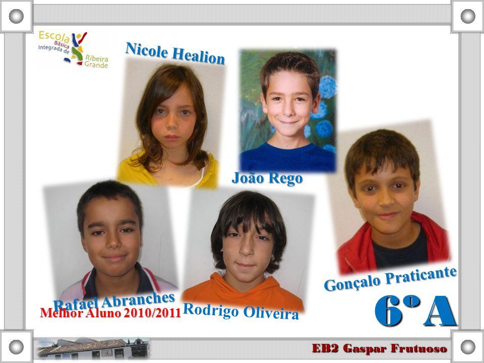 6º A Nicole Healion João Rego Gonçalo Praticante Rafael Abranches