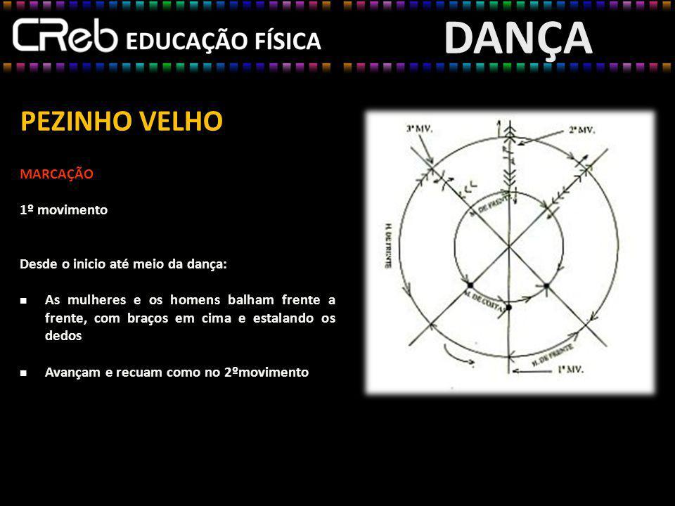 DANÇA PEZINHO VELHO MARCAÇÃO 1º movimento