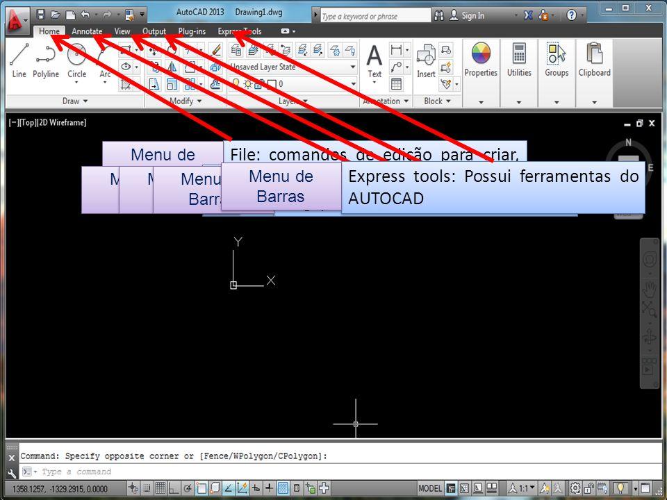 Edit/ Annotate: Edição e jtabulação de desenhos