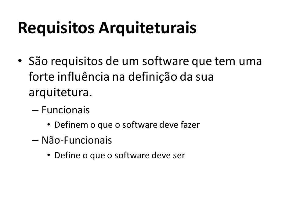 Requisitos Arquiteturais