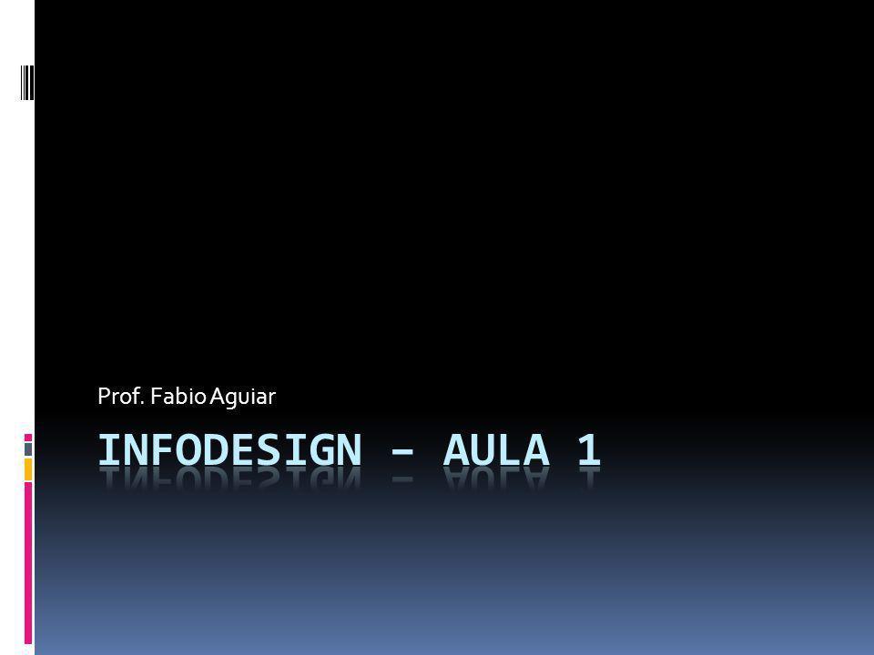 Prof. Fabio Aguiar Infodesign – aula 1