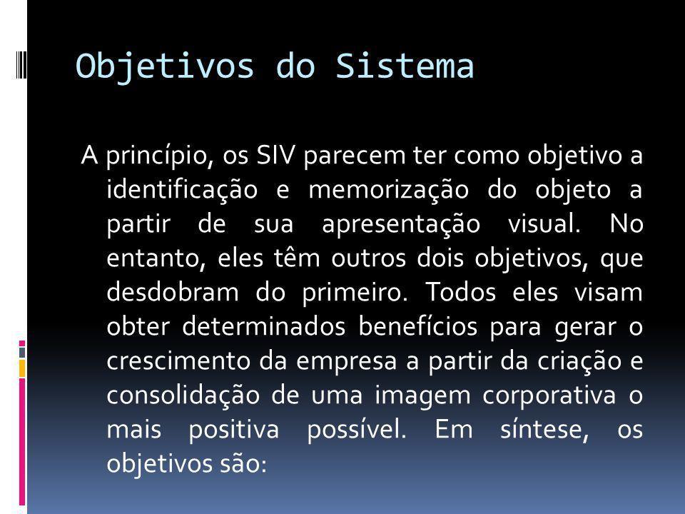 Objetivos do Sistema