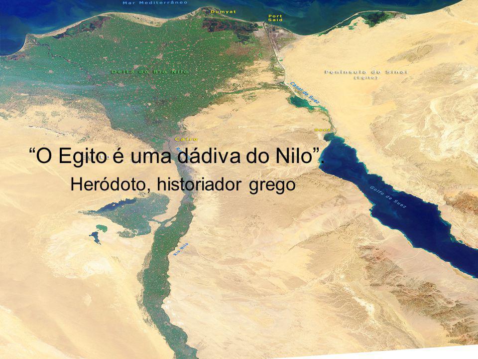 O Egito é uma dádiva do Nilo .
