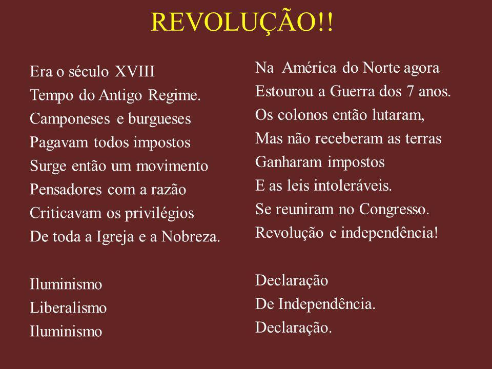 REVOLUÇÃO!!