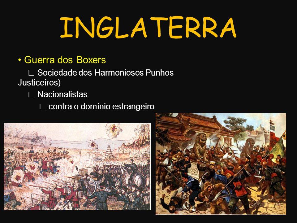 INGLATERRA • Guerra dos Boxers