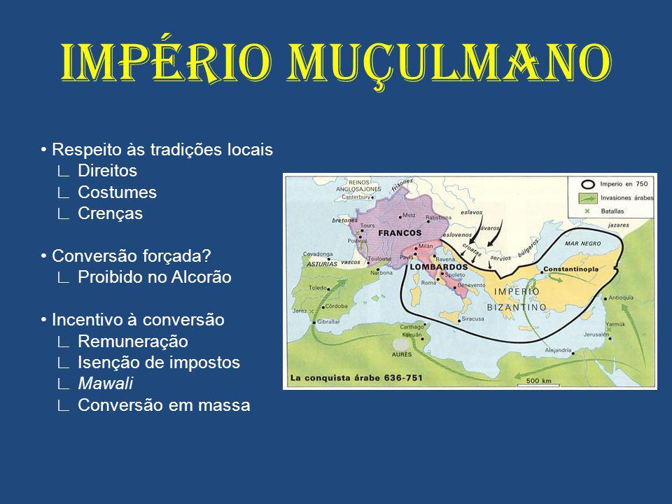 IMPÉRIO MUÇULMANO