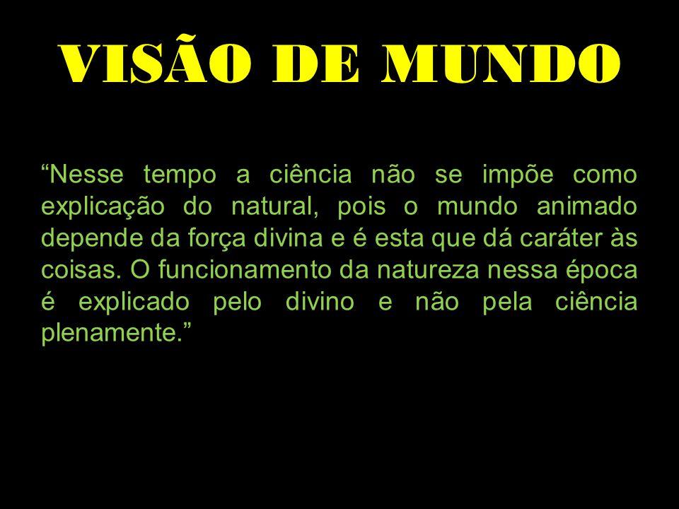 VISÃO DE MUNDO