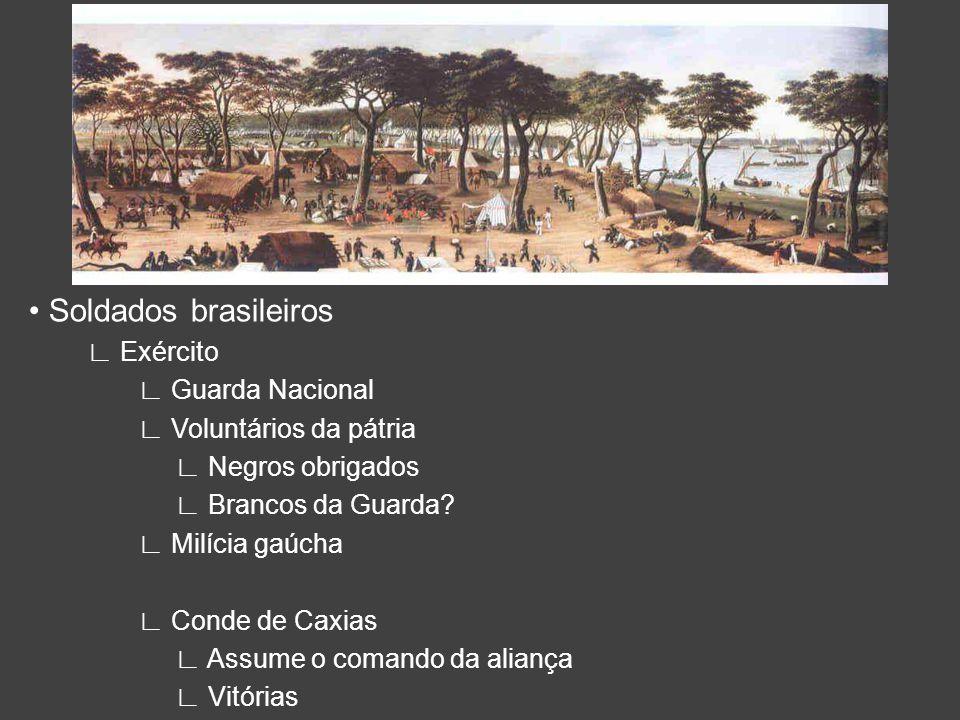 • Soldados brasileiros