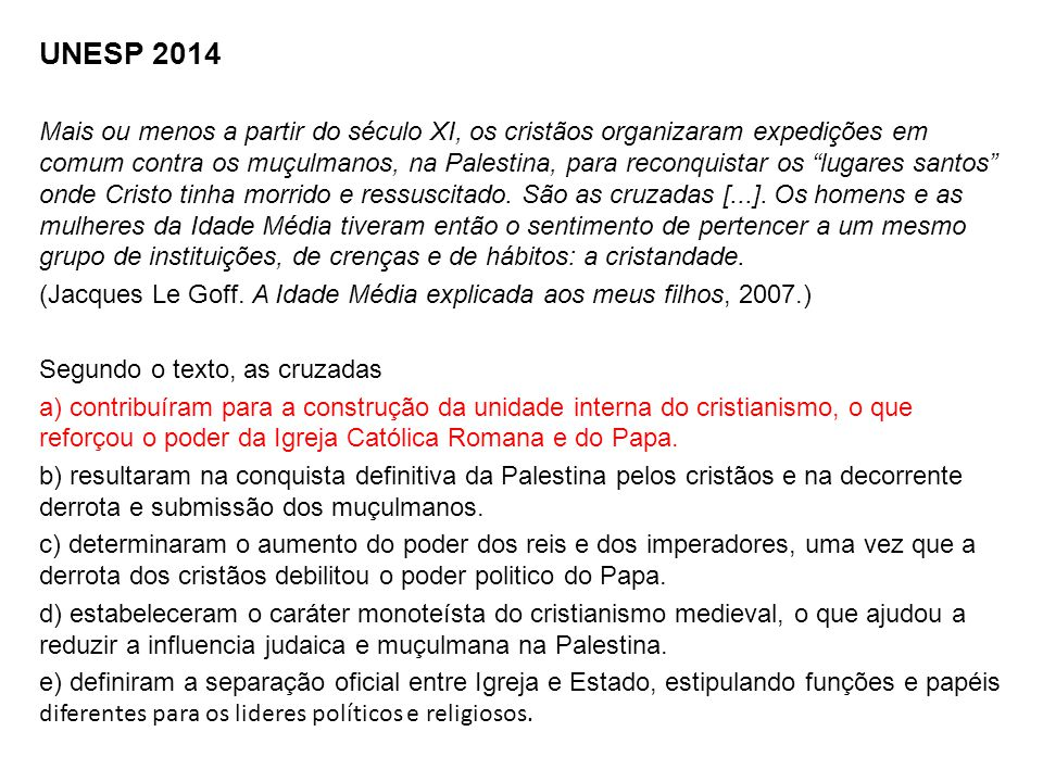 UNESP 2014