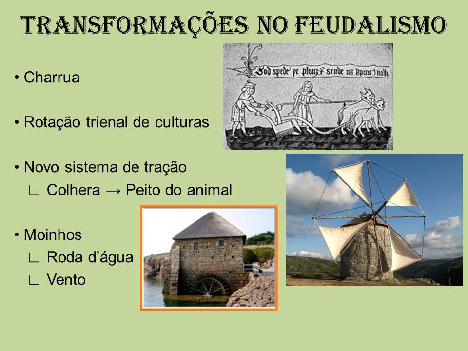 TRANSFORMAÇÕES NO FEUDALISMO