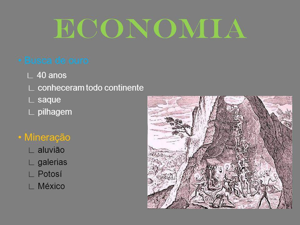 ECONOMIA • Busca de ouro ∟ 40 anos • Mineração