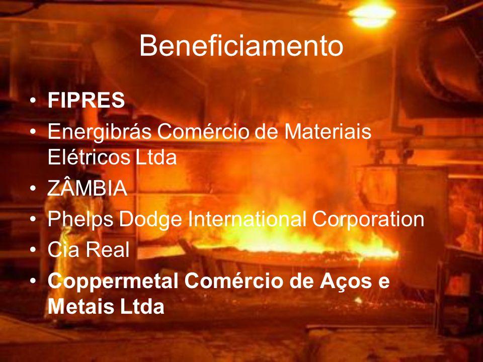 Beneficiamento FIPRES Energibrás Comércio de Materiais Elétricos Ltda