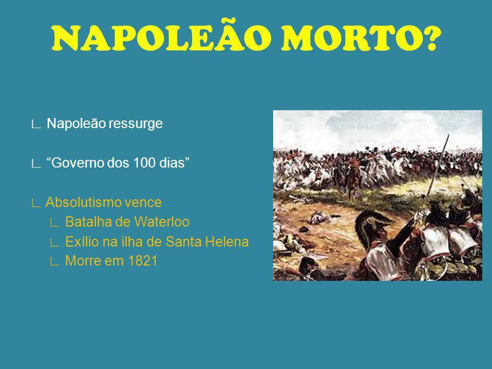 NAPOLEÃO MORTO