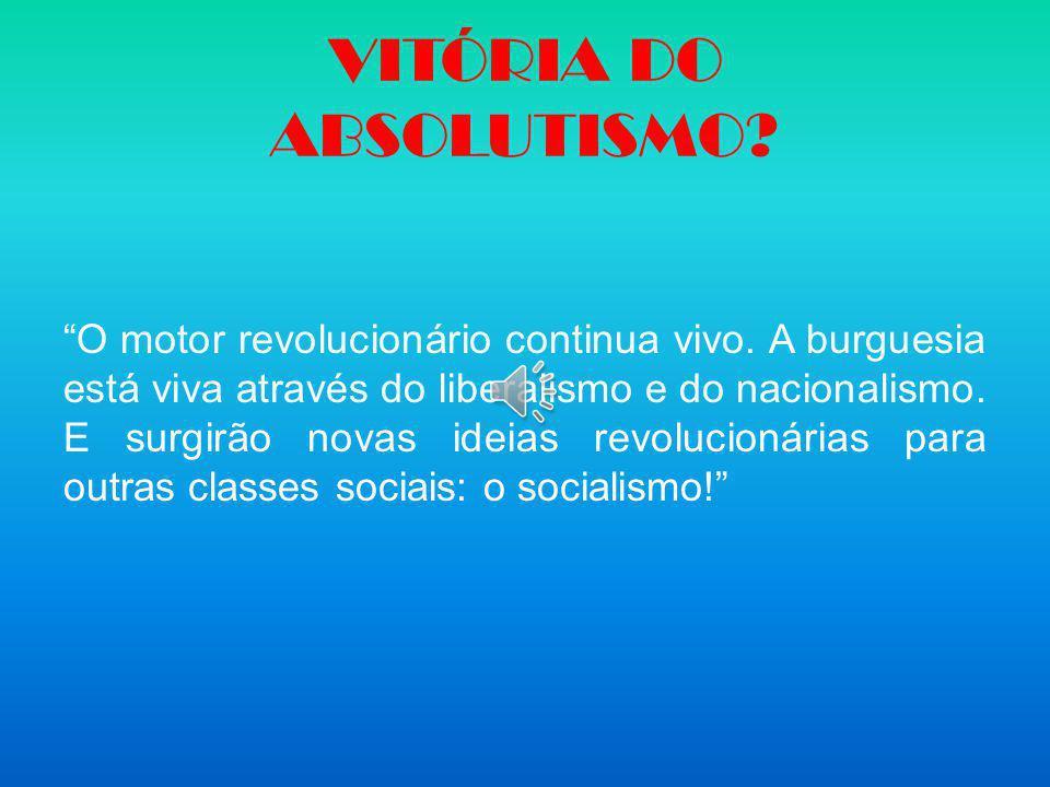 VITÓRIA DO ABSOLUTISMO