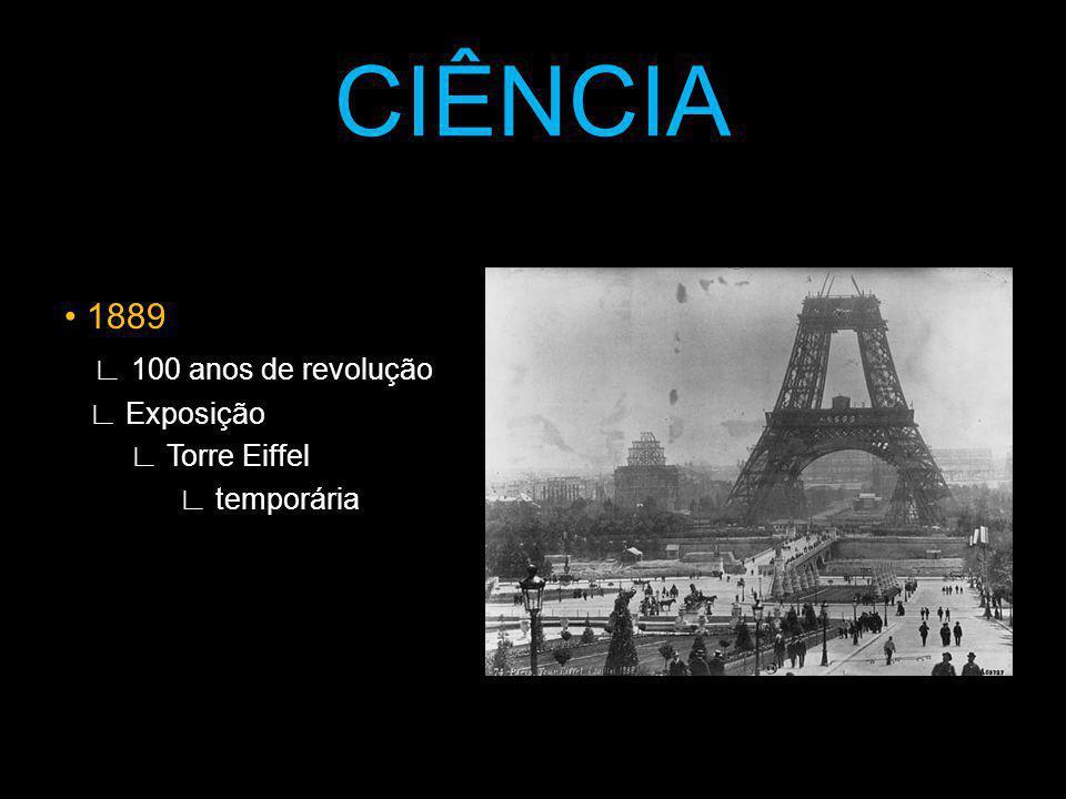CIÊNCIA • 1889 ∟ 100 anos de revolução ∟ Exposição ∟ Torre Eiffel