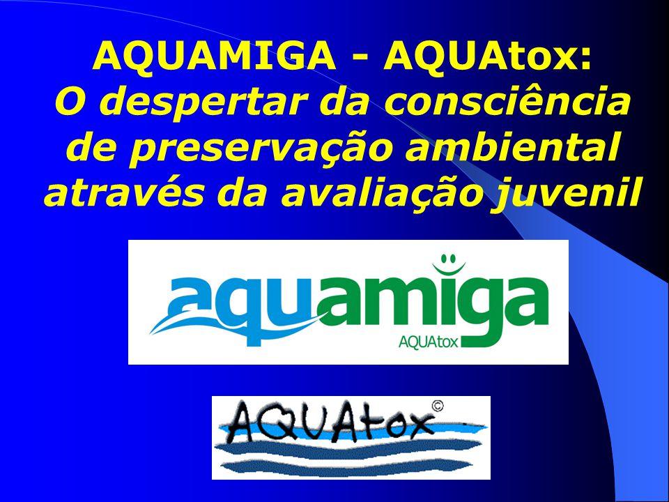 AQUAMIGA - AQUAtox: O despertar da consciência de preservação ambiental através da avaliação juvenil