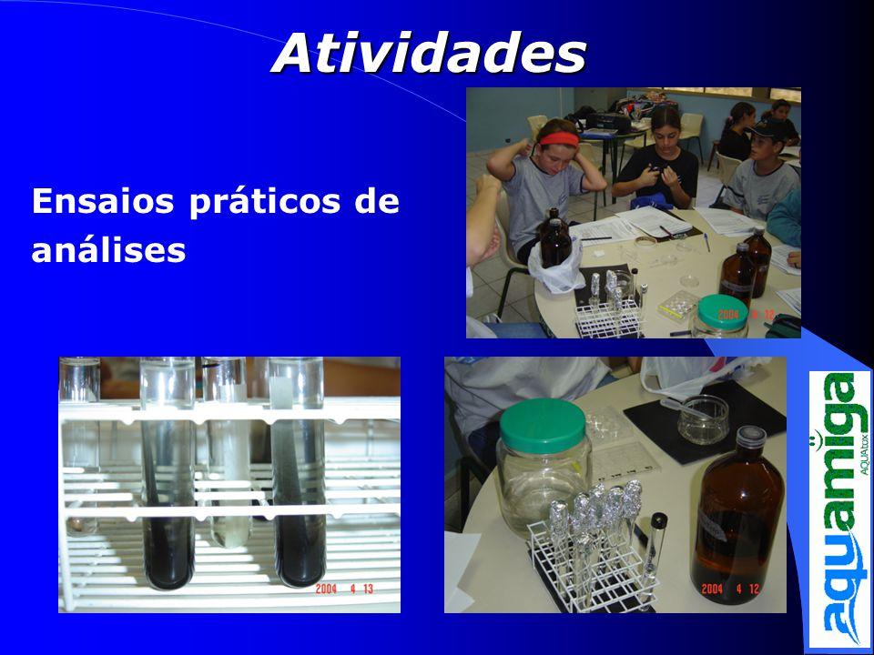 Atividades Ensaios práticos de análises