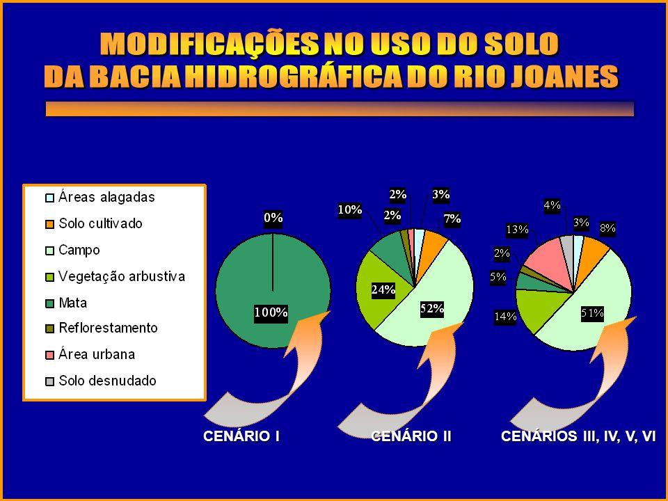 MODIFICAÇÕES NO USO DO SOLO DA BACIA HIDROGRÁFICA DO RIO JOANES