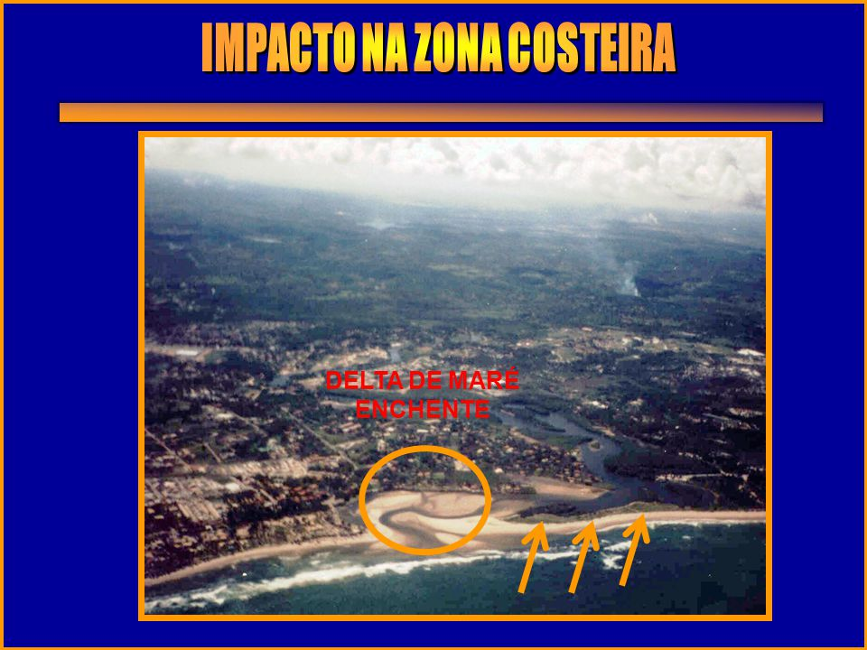 IMPACTO NA ZONA COSTEIRA