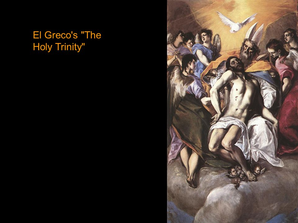 El Greco s The Holy Trinity