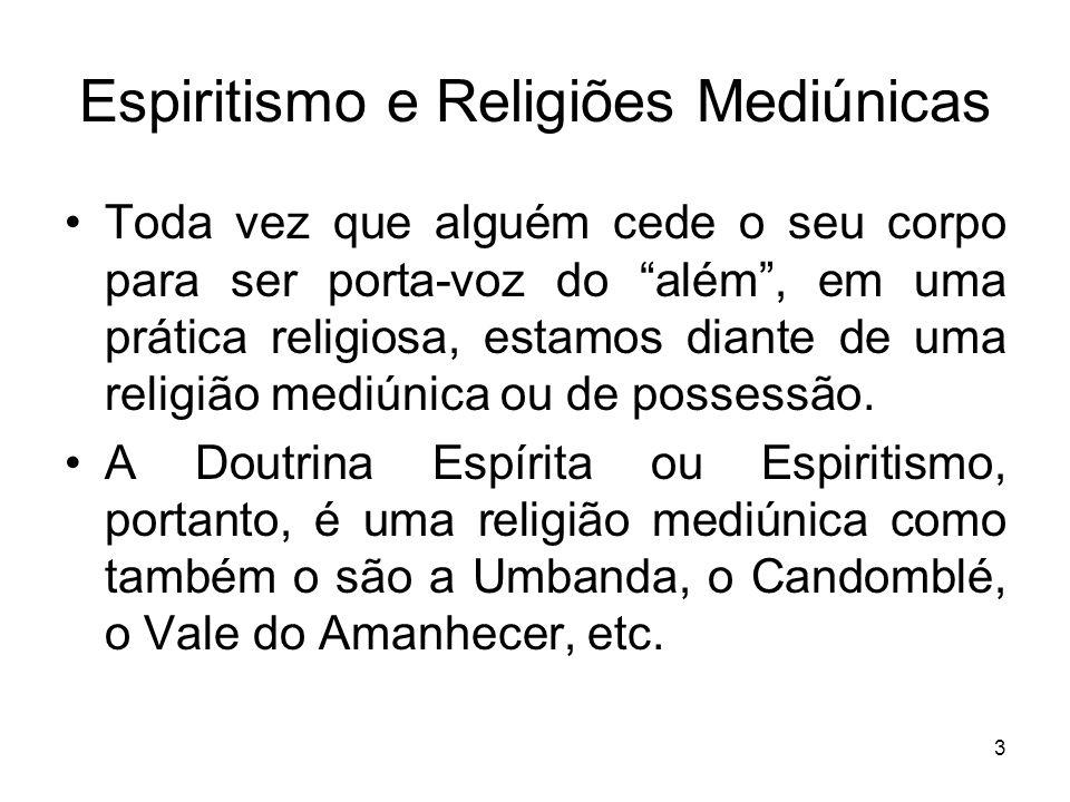 Espiritismo e Religiões Mediúnicas