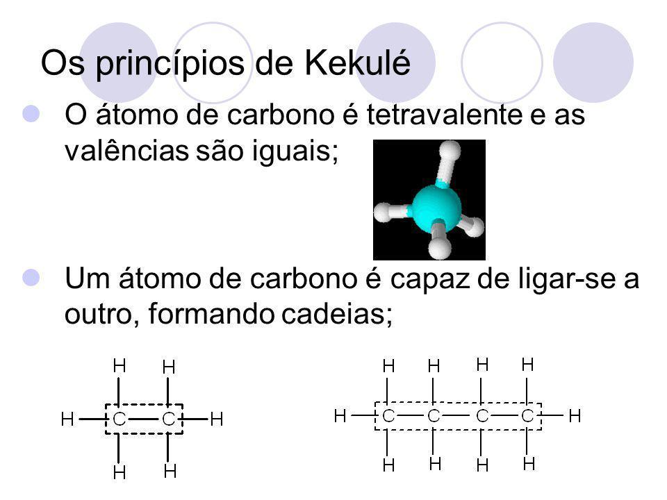 Os princípios de Kekulé