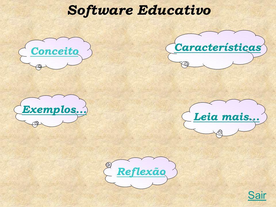 Software Educativo Características Conceito Exemplos... Leia mais...