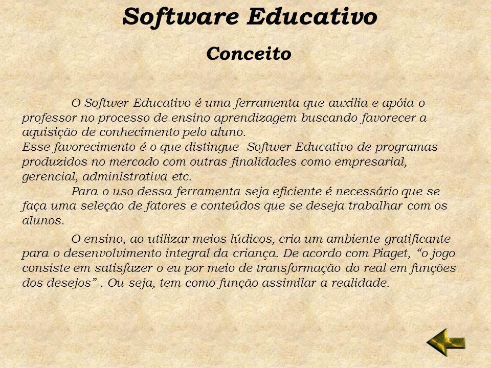 Software Educativo Conceito