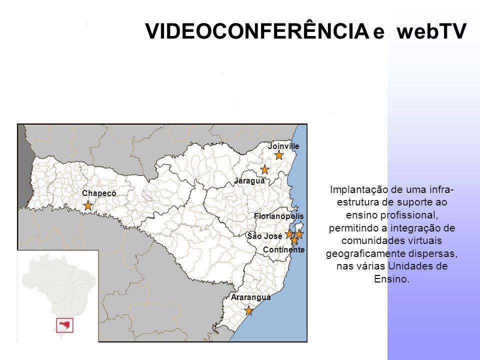 VIDEOCONFERÊNCIA e webTV
