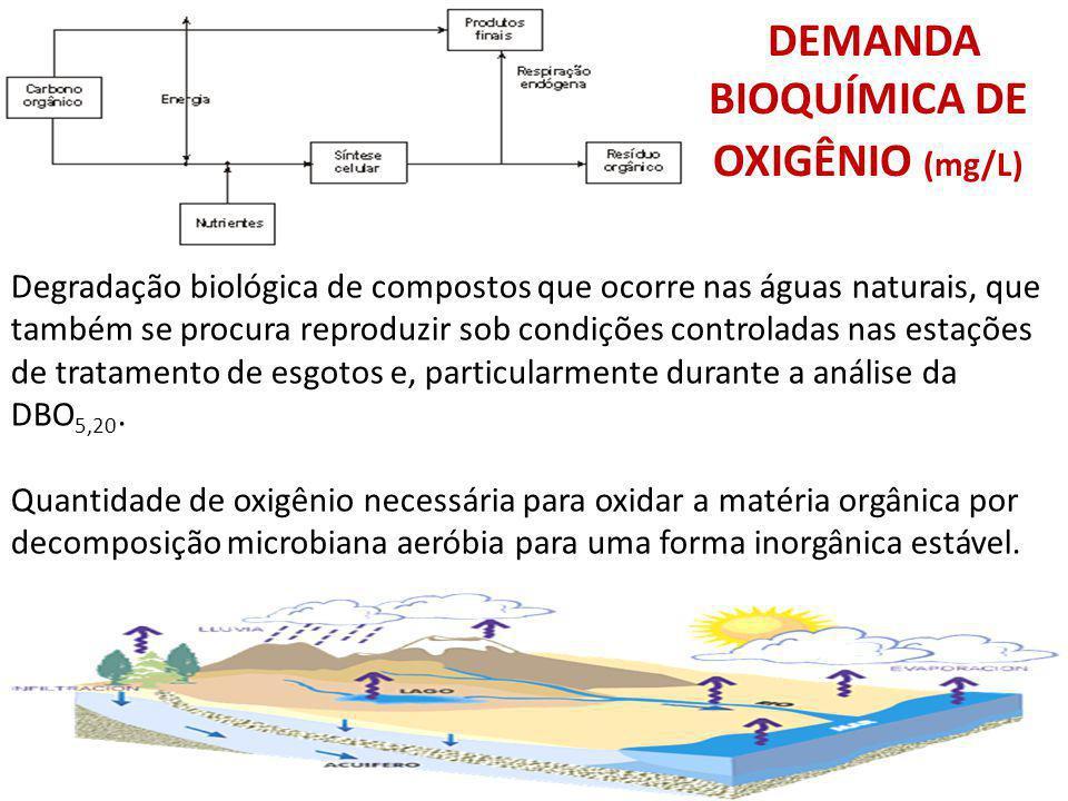 DEMANDA BIOQUÍMICA DE OXIGÊNIO (mg/L)