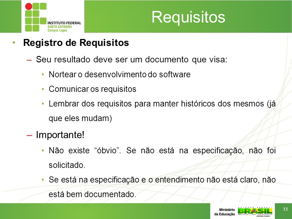 Requisitos Registro de Requisitos Importante!
