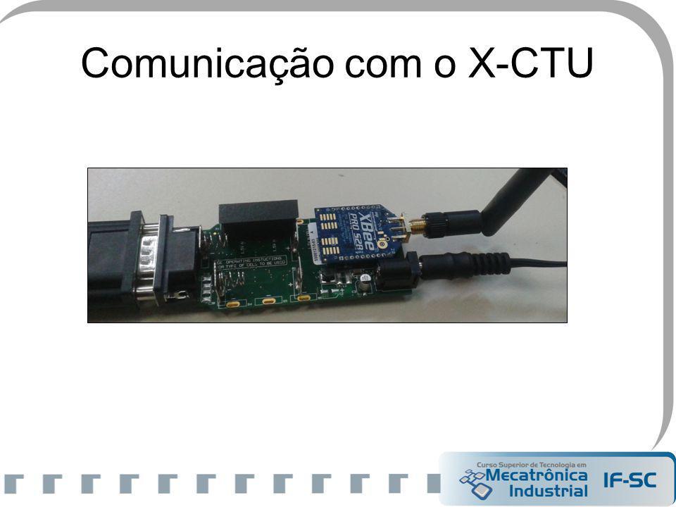 Comunicação com o X-CTU