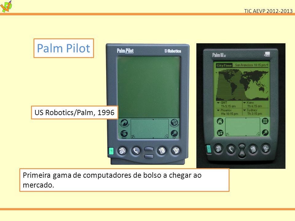 Palm Pilot US Robotics/Palm, 1996